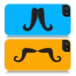 moustache phone case